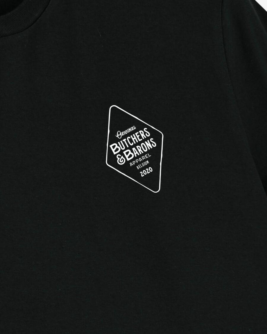 Original black t-shirt by Butchers & Barons