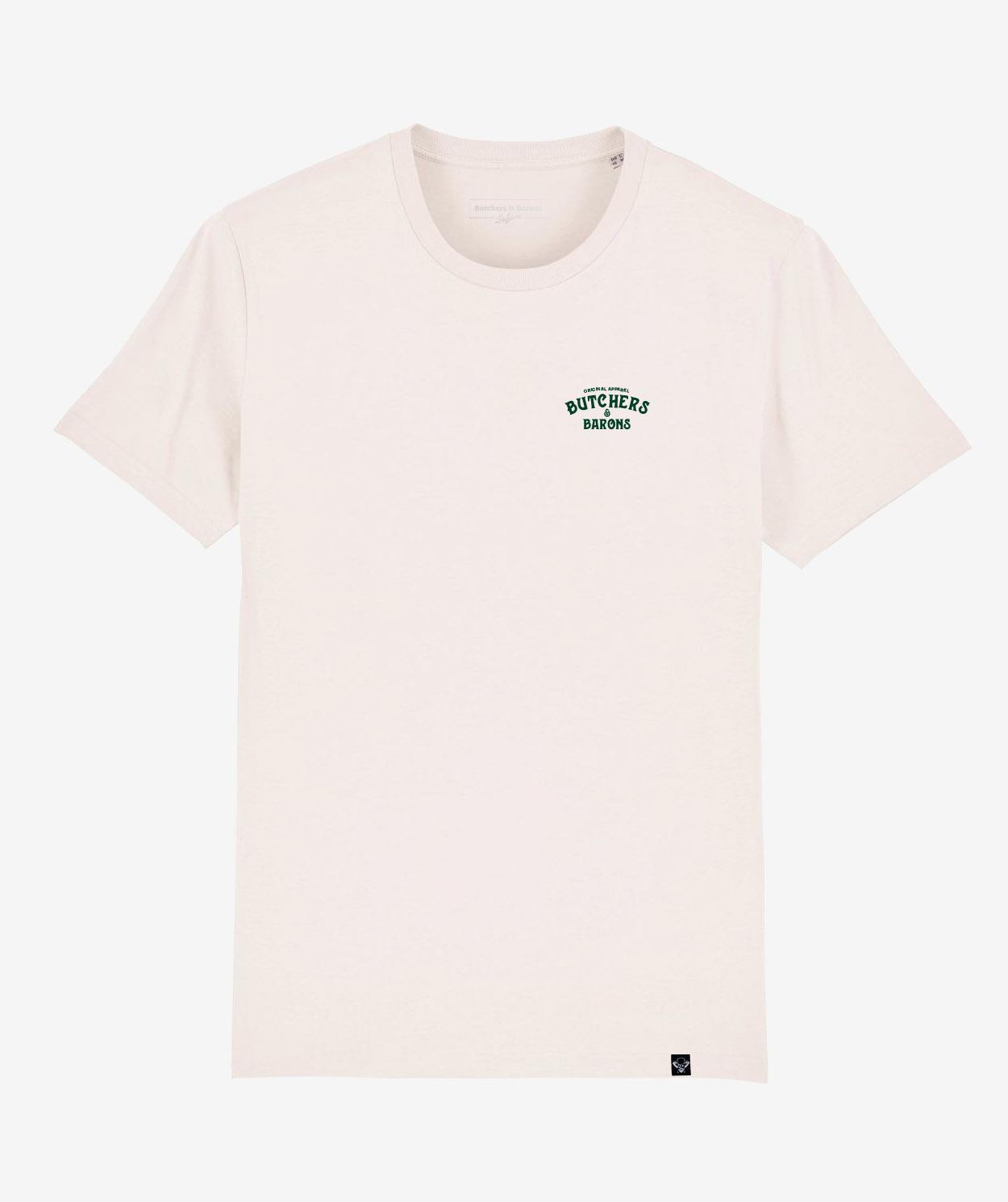 Classic white t-shirt - Butchers & Barons