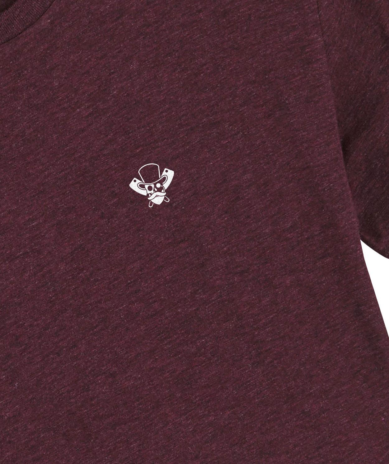 The Baron t-shirt - Heather grape - Butchers & Barons